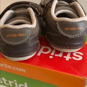 Stride Rite Shoes - Brown Toddler Sneakers